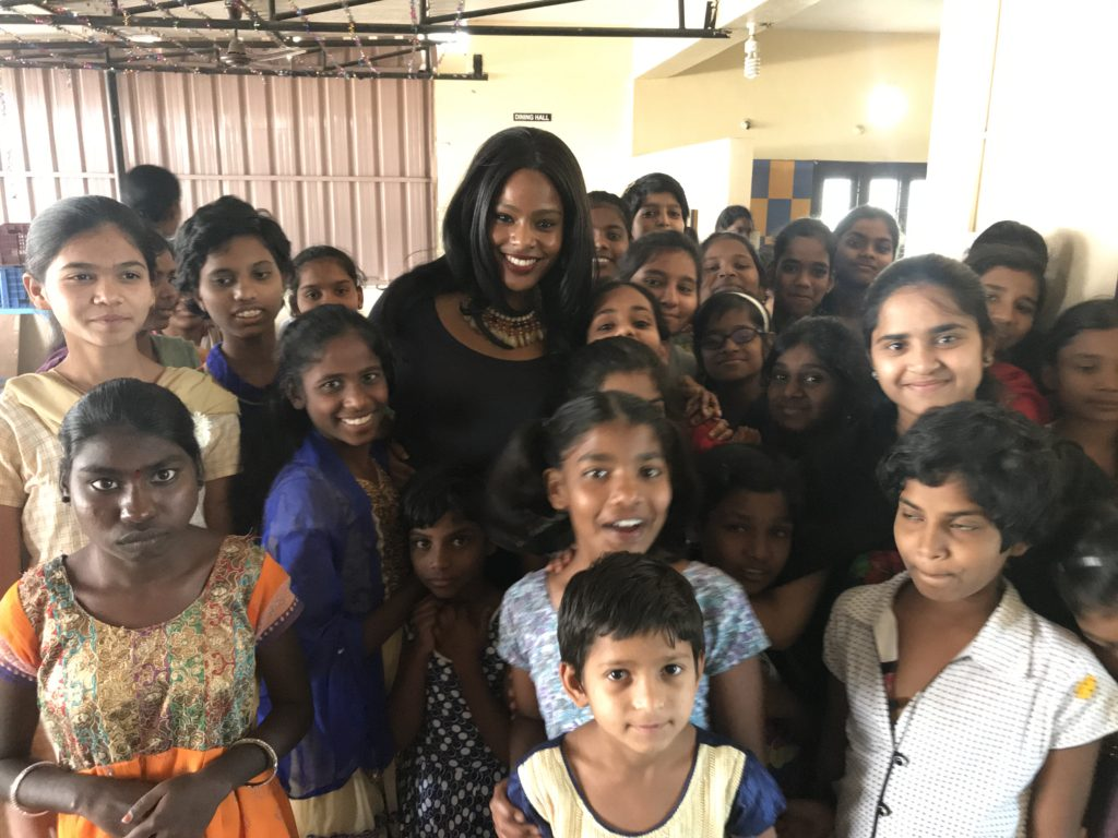Visit to Hyderabad orphanage