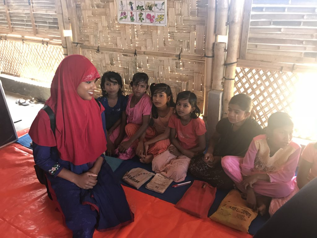 Visit to Rohingya refugee camps